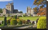 Drummond Castle  Perthshire  Scotland  Great Britain