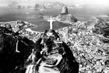 Christ the Redeemer Rio de Janeiro Plastic Sign