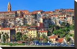 View of the Old Town of Ventimiglia  Province of Imperia  Liguria  Italy