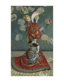 La Japonaise (Camille Monet in Japanese Costume)  1876