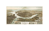 Panorama of Norfolk  Virginia  and Surroundings  1892