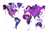 Watercolor Map No 8