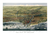 The City of Chicago  Illinois  1874
