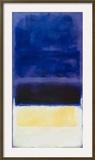 Untitled (Blue  Dark Blue  Yellow)