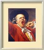 Self-Portrait as a Yawning Man  1791