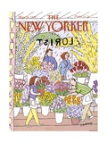 The New Yorker Cover - May 28  1990