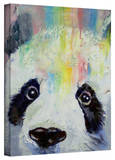 Michael Creese 'Panda Rainbow' Gallery-Wrapped Canvas