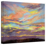 Michael Creese 'Atahualpa Sunset' Gallery-Wrapped Canvas