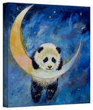Michael Creese 'Panda Stars' Gallery-Wrapped Canvas