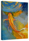 Michael Creese 'Butterfly Koi' Gallery-Wrapped Canvas