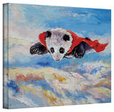 Michael Creese 'Panda Superhero' Gallery-Wrapped Canvas