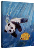 Michael Creese 'Panda Diver' Gallery-Wrapped Canvas