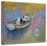 Michael Creese 'Panda Moon' Gallery-Wrapped Canvas