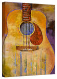 Michael Creese 'Acoustic Guitar' Gallery-Wrapped Canvas