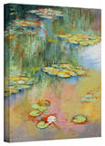 Michael Creese 'Water Lily' Gallery-Wrapped Canvas