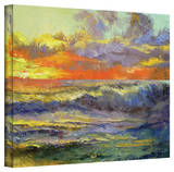 Michael Creese 'California Dreaming' Gallery-Wrapped Canvas