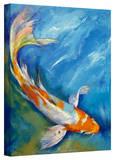 Michael Creese 'Yamato Nishiki Koi' Gallery-Wrapped Canvas