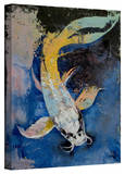 Michael Creese 'Dragon Koi' Gallery-Wrapped Canvas