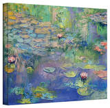 Michael Creese 'Water Garden' Gallery-Wrapped Canvas