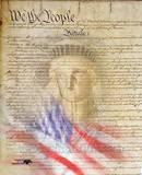 Flag/Constitution Collage