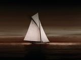 Lady Anne Sailing Sepia