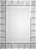 Emma Tiled Square Mirror