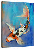 Michael Creese Sanke Butterfly Koi Gallery-Wrapped Canvas
