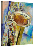 Michael Creese Saxophone Gallery-Wrapped Canvas