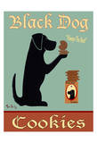 Black Dog Cookies