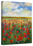 Michael Creese Poppies Gallery-Wrapped Canvas