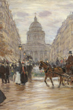 Boulevard Saint Michel  1898  19th Century
