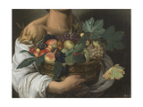 Fruit Seller (Boy with Basket of Fruit)