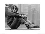 John Lennon (Sitting - Bob Gruen)