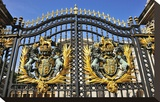 Gate of Buckingham Palace  London  South of England  United Kingdom of Great Britain