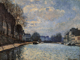 View of the Canal Saint Martin