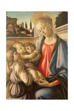 Madonna and Child and Two Angels