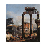 Capriccio with the Coliseum