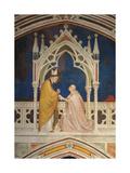 Cardinal Gentile Portino Montefiore Kneeling Before St Martin of Tours