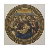 Virgin and Child with Six Angels (Madonna of the Pomegranate)