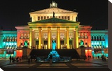 Festival of Lights  Berlin Theatre at Gendarmenmarkt  Berlin  Germany