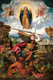 The Archangel Michael and the Devil