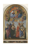 The Coronation of the Virgin with St John the Evangelist