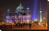 Festival of Lights  Berlin Cathedral at the Pleasure Garden  Lustgarten  Berlin