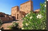First Pylon of the Temple of Isis  Philae Temple on Agilkia Island  Aswan  Egypt