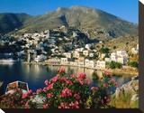 Harbour of Symi  Greece