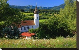 Parish church of St Georg in Bad Bayersoien  Upper Bavaria  Germany