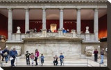 Hall of the Trajaneum at the Pergamon Museum  Museum Island  Berlin  Germany