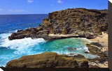Halona Beach Cove  Island of Oahu  Hawaii  USA
