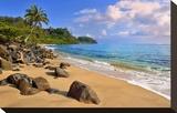 Lumahai Beach near Hanalei  Island of Kauai  Hawaii  USA