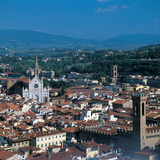 View of the District of Santa Croce  Florence